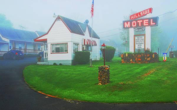 Photograph - Hillside Motel, Shenandoah Valley, Va by Bill Jonscher