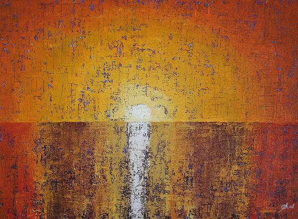 Painting - Hilton Head Sunrise Original Painting by Sol Luckman