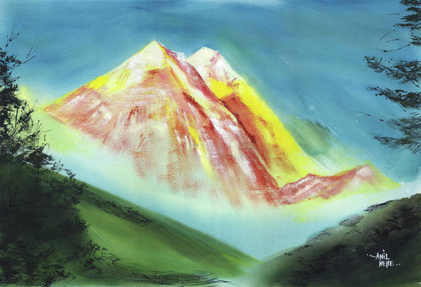 Painting - Himalaya 6 by Anil Nene