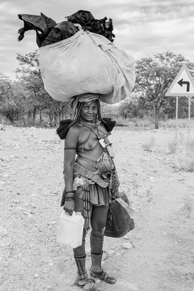 Photograph - Himba Woman 3 by Mache Del Campo