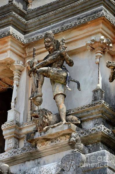 Photograph - Hindu God Figure Sculpture On Tower Pagoda At Maviddapuram Kandaswamy Temple Jaffna Sri Lanka by Imran Ahmed
