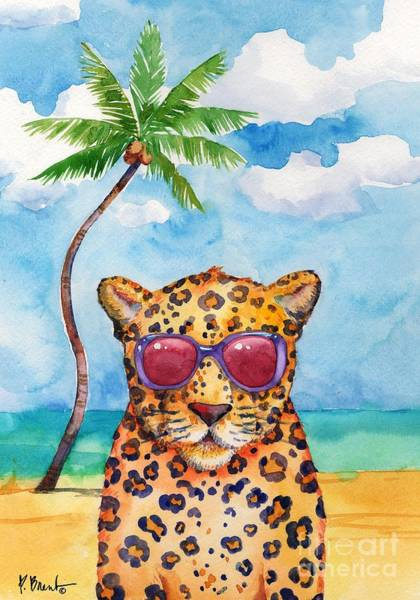 Wall Art - Painting - Hip Shades - Cheetah by Paul Brent