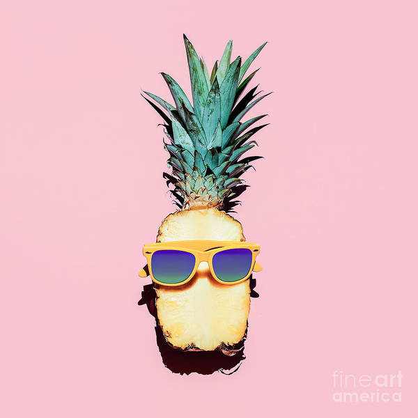 Freshness Wall Art - Photograph - Hipster Pineapple Fashion Accessories by Evgeniya Porechenskaya