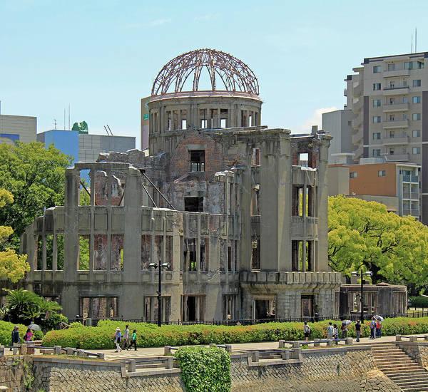 Photograph - Hiroshima A-bomb Dome - Hiroshima, Japan by Richard Krebs