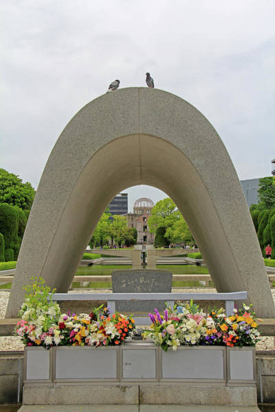 Photograph - Hiroshima Peace Memorial Park - Hiroshima, Japan by Richard Krebs
