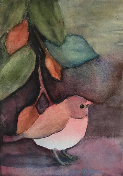 Painting - His Eye Is On The Sparrow by Linda Anderson