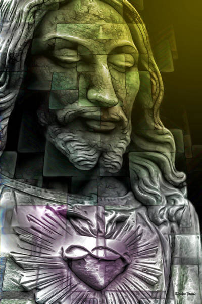 Sacred Heart Digital Art - His Son by Stephen Younts