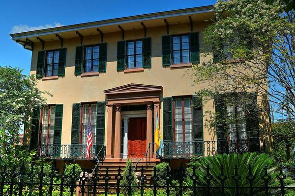Photograph - Historic Andrew Low House Savannah Georgia by Carol Montoya