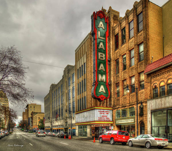 Wall Art - Photograph - Historic Beauty Alabama Theatre Birmingham Alabama Art by Reid Callaway