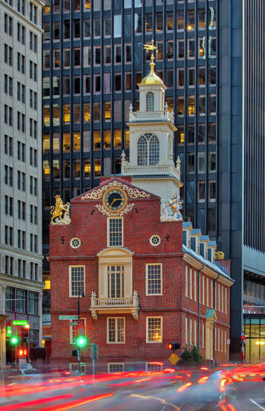 Photograph - Historic Boston Old State House by Juergen Roth