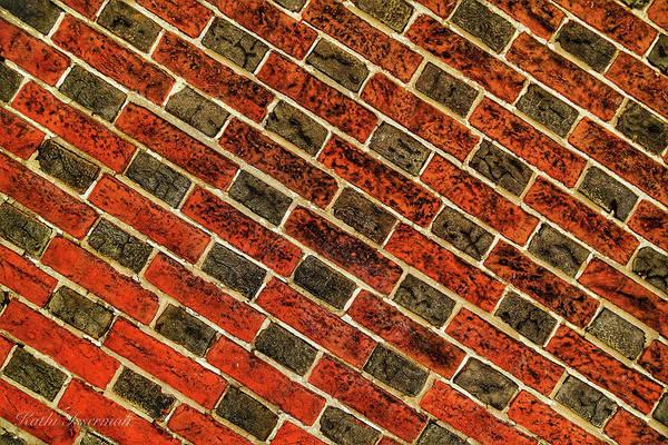Red Wall Art - Photograph - Historic Bricks by Kathi Isserman