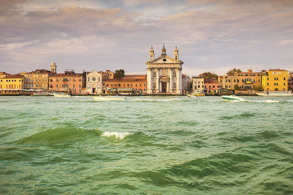 Old Photograph - Historic Buildings At Venice Canal by Picturegarden