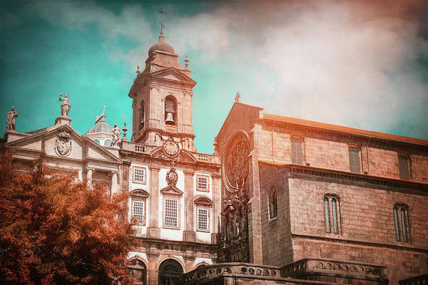 Wall Art - Photograph - Historic Churches Of Porto Portugal  by Carol Japp