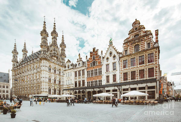 Wall Art - Photograph - Historic City Of Leuven by JR Photography