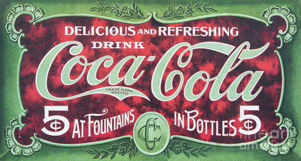 Photograph - Historic Coca Cola Sign by Kevin McCarthy