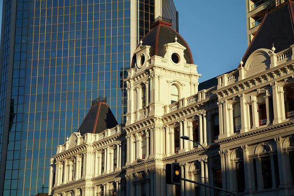 Wall Art - Photograph - Historic Customhouse And Modern Glass by David Wall