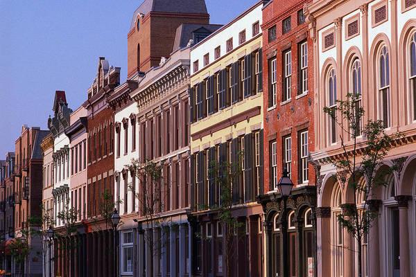 Retail Photograph - Historic District Buildings, Charleston by Visionsofamerica/joe Sohm