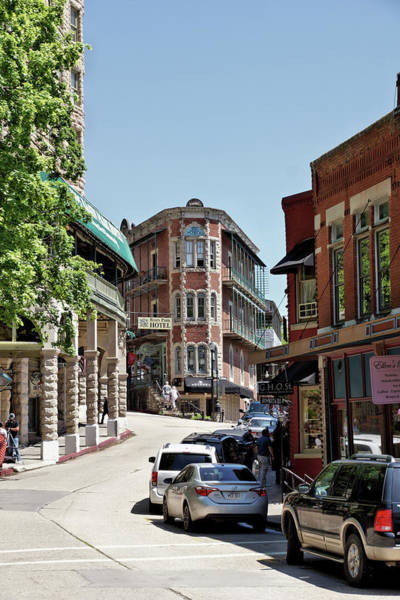 Wall Art - Photograph - Historic Downtown Eureka Springs Street Scenes 5 by John Trommer