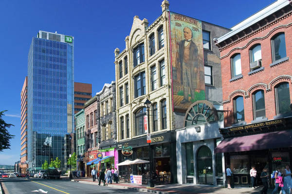 Halifax Wall Art - Photograph - Historic Downtown Halifax Nova Scotia by David Smith