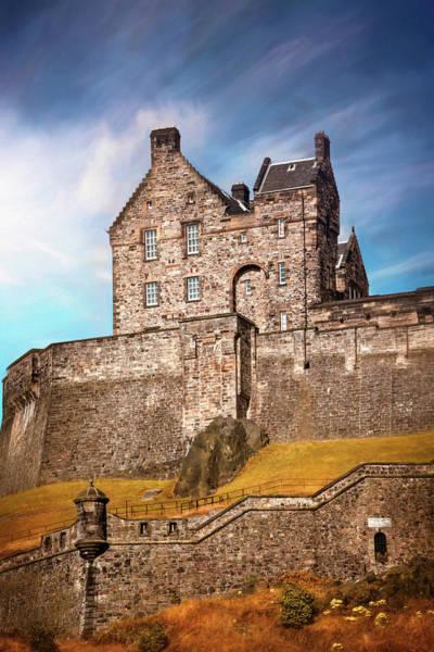 Wall Art - Photograph - Historic Edinburgh Castle Scotland by Carol Japp