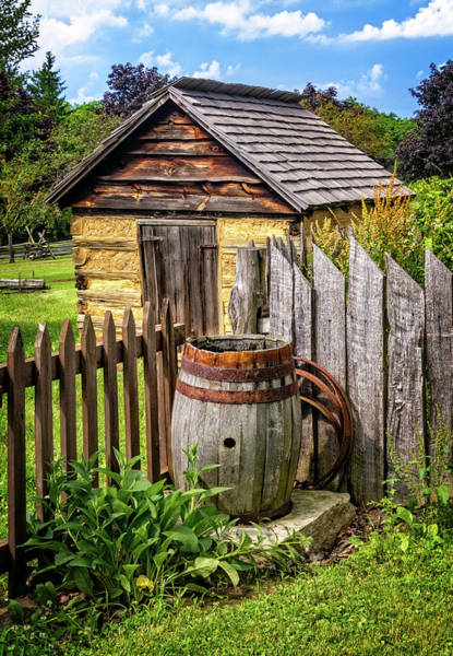 Photograph - Historic Farmstead Scene by Carolyn Derstine