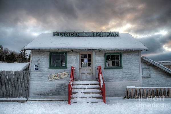 Wall Art - Photograph - Historic Fishtown In Winter by Twenty Two North Photography