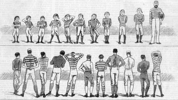 Sport Digital Art - Historic Football by Hulton Archive