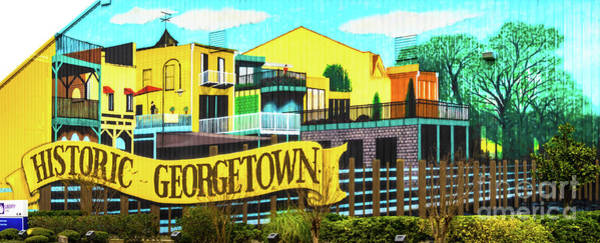 Wall Art - Photograph - Historic Georgetown Sign by Norma Brandsberg