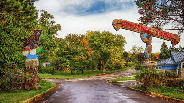 Photograph - Historic Gunflint Trail Welcome Signs by Susan Rissi Tregoning
