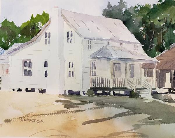 Painting - Historic Home by Larry Hamilton