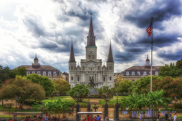Photograph - Historic Jackson Square by Susan Rissi Tregoning