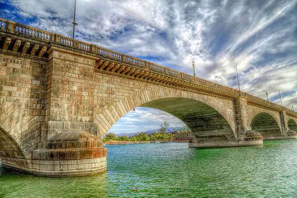 Wall Art - Photograph - Historic London Bridge by Donna Kennedy