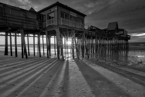 Photograph - Historic Maine Old Orchard Beach Pier by Juergen Roth