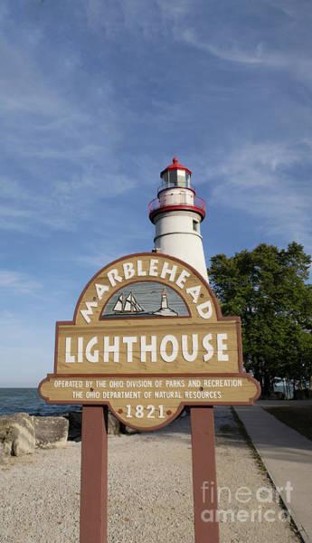 Photograph - Historic Marblehead Lighthouse by Ann Horn