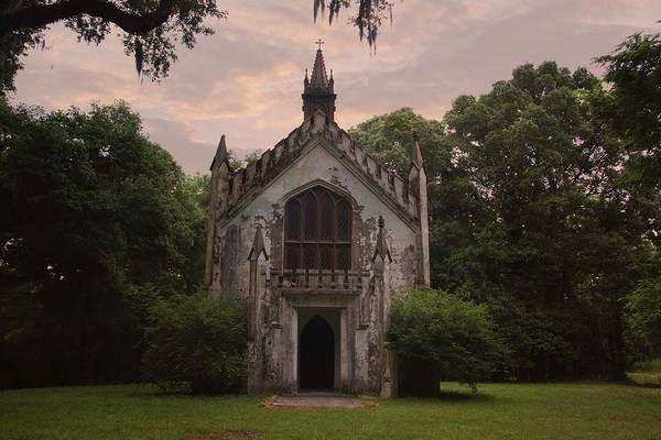 Photograph - Historic Mississippi Church In The Woods by Kelly Gomez