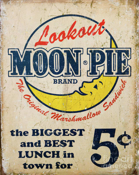Photograph - Historic Moon Pie Sign by Kevin McCarthy