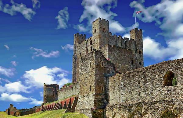 Photograph - Historic Rochester Castle by Anthony Dezenzio