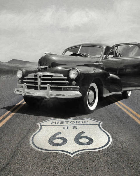 Wall Art - Photograph - Historic Route 66 by Lori Deiter