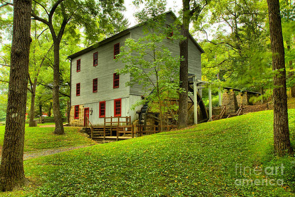 Photograph - Historic Shoaff's Mill by Adam Jewell