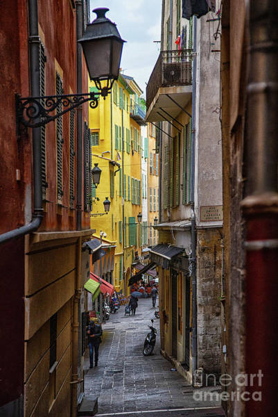 Wall Art - Photograph - Historical Architectural Charm Of Vieux Nice Old Nice France  by Wayne Moran