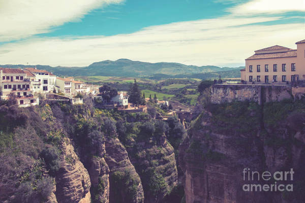 Photograph - historical village of Ronda, Spain by Ariadna De Raadt