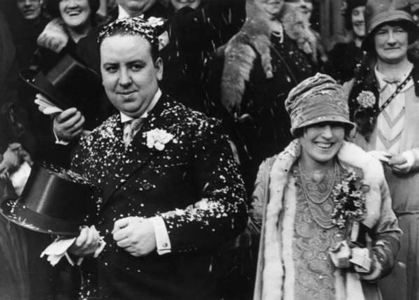 Photograph - Hitch Gets Hitched by Evening Standard