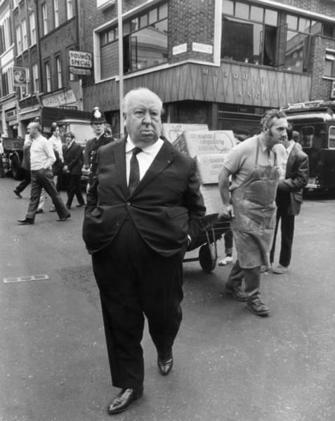 Photograph - Hitchcock In London by John Minihan