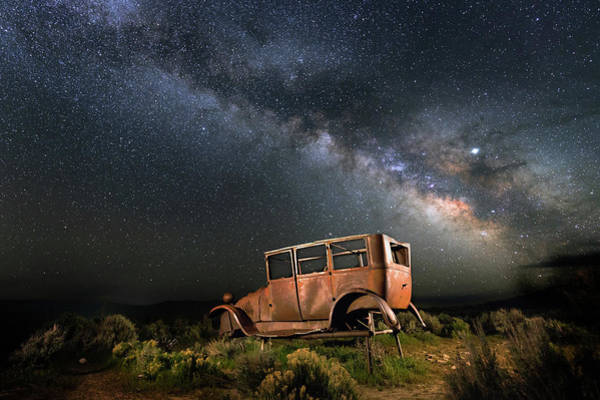 Astro Photograph - Hitchhiking To Milky Way by Davorin Mance