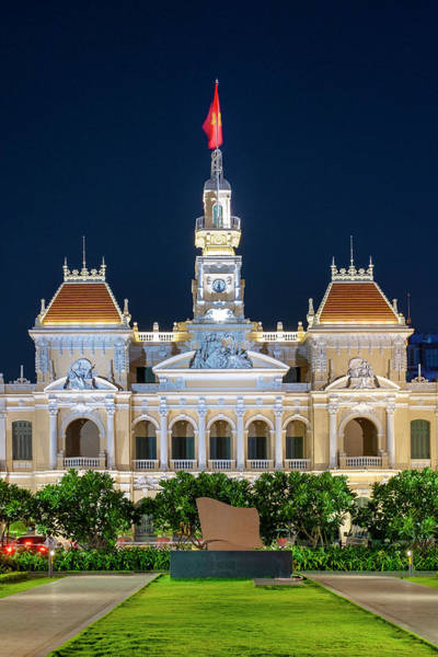 Photograph - Ho Chi Minh City Hall by Fabrizio Troiani