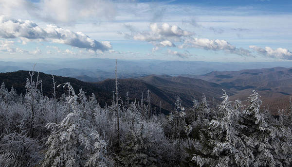 Southern Usa Photograph - Hoar Frost, Clingmans Dome by Jerry Whaley