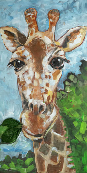 Painting - Hobbes Giraffe by Tim Nyberg