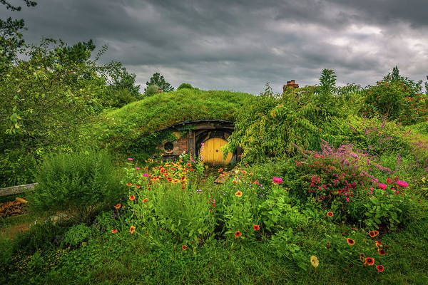 Photograph - Hobbit Garden In Bloom by Racheal Christian