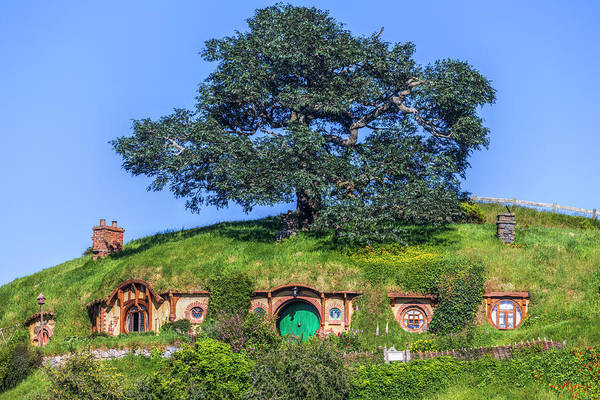 Wall Art - Photograph - Hobbiton - New Zealand by Joana Kruse