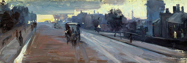 Wall Art - Painting - Hoddle St., 10 P.m. - Digital Remastered Edition by Arthur Streeton